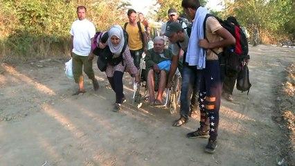 Balkans: l'odyssée de migrants syriens handicapés
