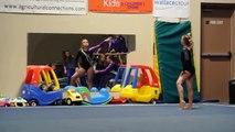 Level 8 Girls Gymnastics Floor Routine December 6, 2013