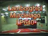 Lamborghini Murcielago LP640 on Spa F1 track.