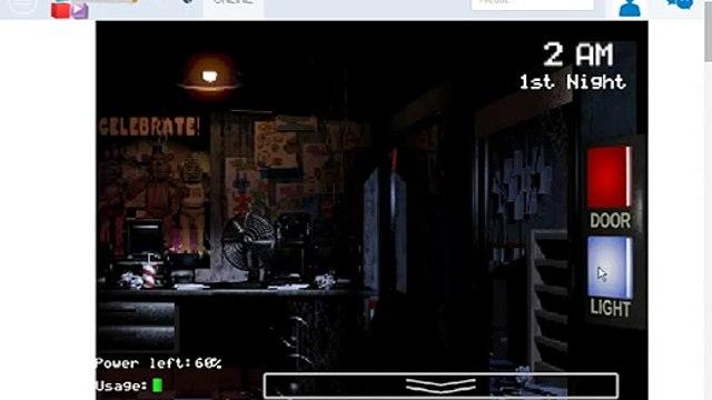 Game Video... hraje FNAF