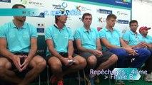 Championnats du monde Aiguebelette 2015 - Repêchage  M8+