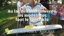 VIDEO. Joué-lès-Tours : bateaux et sous-marins électriques au lac des Bretonnières