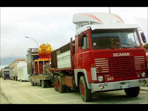 american trucks vs european trucks    (truck war)