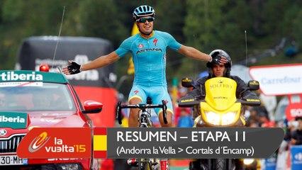 Mikel Landa gana la etapa reina en Andorra; Aru, nuevo líder