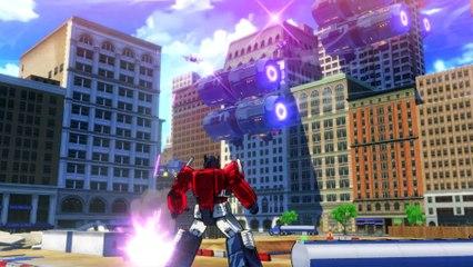 Coulisses du jeu (doublage d'Optimus Prime) de Transformers : Devastation