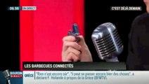 Briquet taser vu dans Bourdin Direct sur RMC - Briquet électronique sans flamme nouvelle génération rechargeable par USB