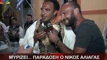 Ο Νίκος Αλιάγας Τσολιάς Στο ...Μεσολόγγι