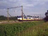 Treinen door Zwolle en Utrecht Lunetten