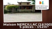 A louer - Maison/villa - NERCILLAC (16200) - 5 pièces - 152m²