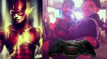 Ezra Miller Describes Flash Costume and Barry Allen's Hair!