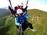 Tandem Paragliding i Harstad. Luftig kveldstur : Paragliding Norway
