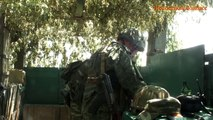 Russian Army & proxies in Donetsk practice 'tank breakthrough through fortified enemy line'