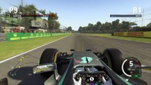 F1 2015 Monza Grand Prix Circuit Onboard Lap Lewis Hamilton   PS4