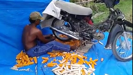 Amazing !!! Another function of motorcycles
