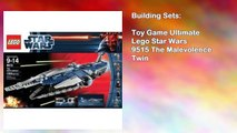Toy Game Ultimate Lego Star Wars 9515 The Malevolence Twin