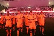 Com Arena Corinthians laranja, terceira camisa do Timão é lançada