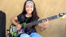 Under a Glass moon by׃Dream Theater cover - Ayu gusfanz 10 years Old From Indonesia