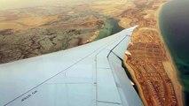 Etihad Airways EY205, Boeing 787-9 Dreamliner, A6-BLB, Landing at Abu Dhabi International Airport