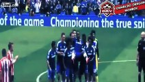 Chelsea players carry Didier Drogba Funny Substitution
