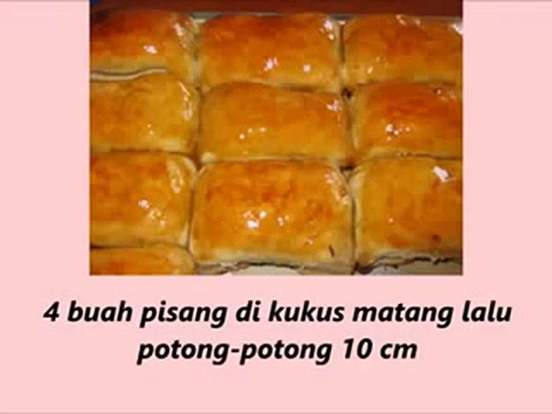 Tutorial Cooking Indonesian Food recipes Pisang Molen Bandung