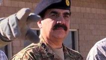 General Raheel Sharif, head of Pakistani army, visits National Training Center, Calif.