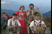 A Bavarian Yodeller, Franzl Lang doing what he does best!