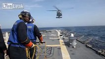 MH-60R Sea Hawk In-Flight Refueling