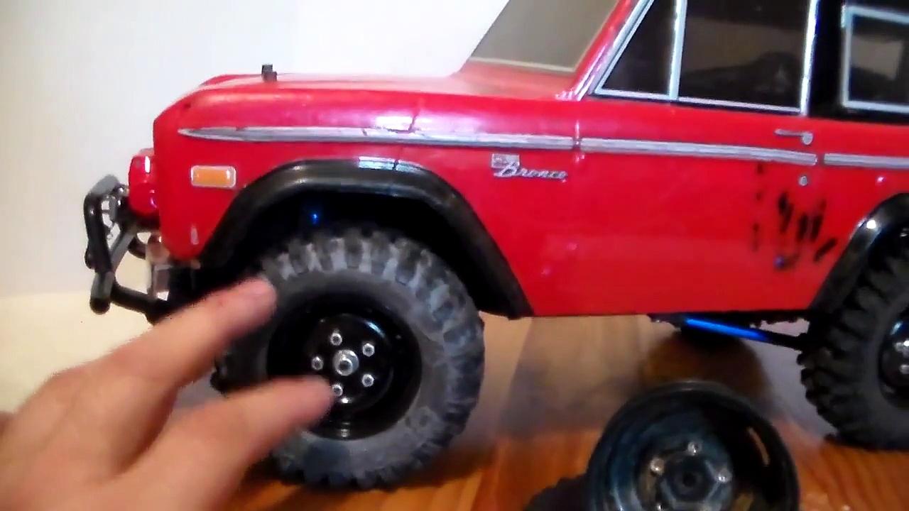 Tamiya CC01 Ford Bronco remote control