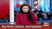 News Headlines 3 September 2015 ARY, Geo Pakistan Car Driver Statement In Benazir Murder Case - YouTube