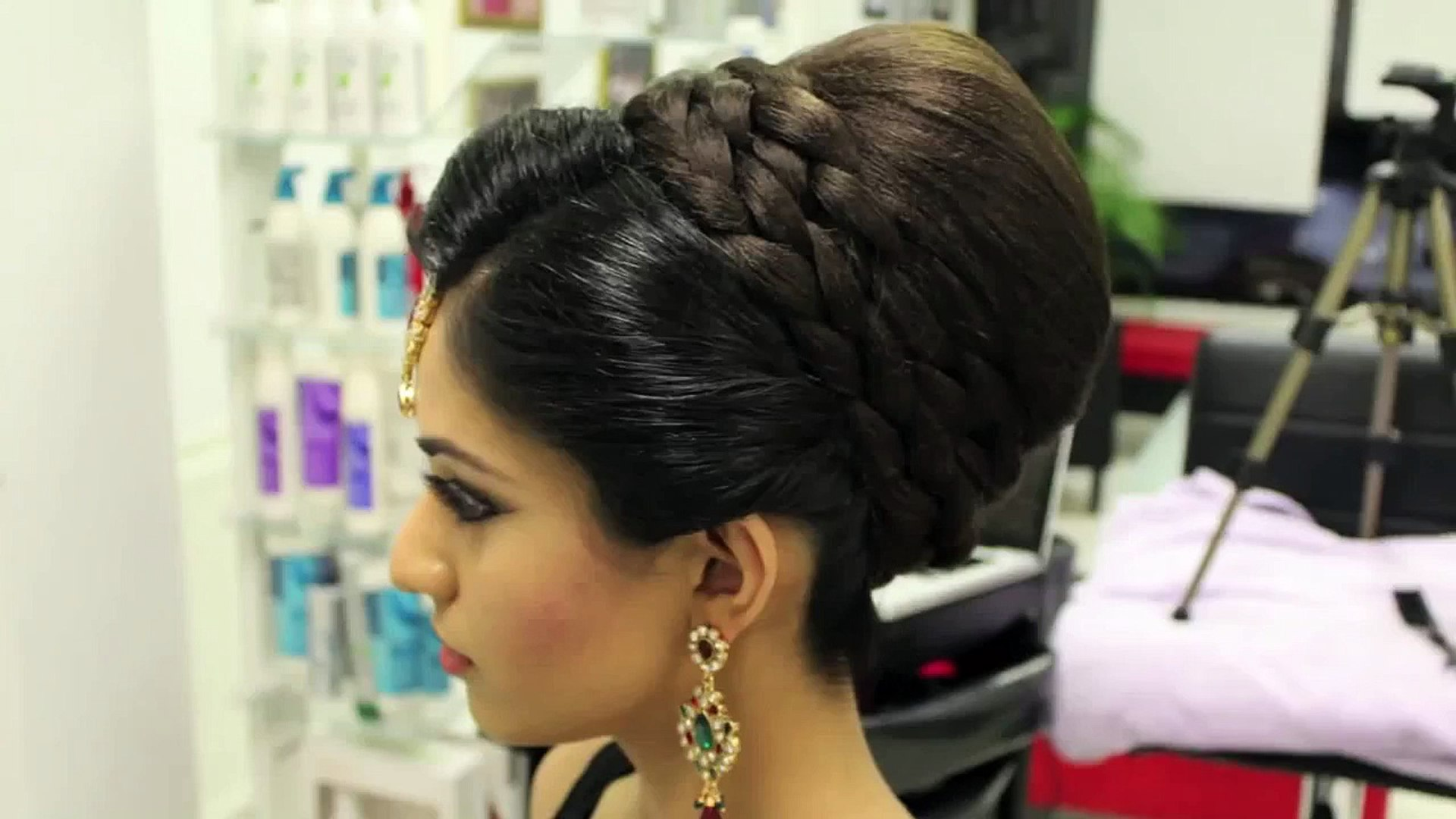 tutorial-indian-pakistani-asian-bridal-hair-style - video