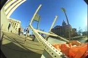 "Parkour Meets Skateboarding ""Hollarado"" - William Spencer"