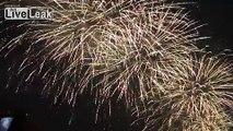 Beijing Closing Ceremony Firework Finale