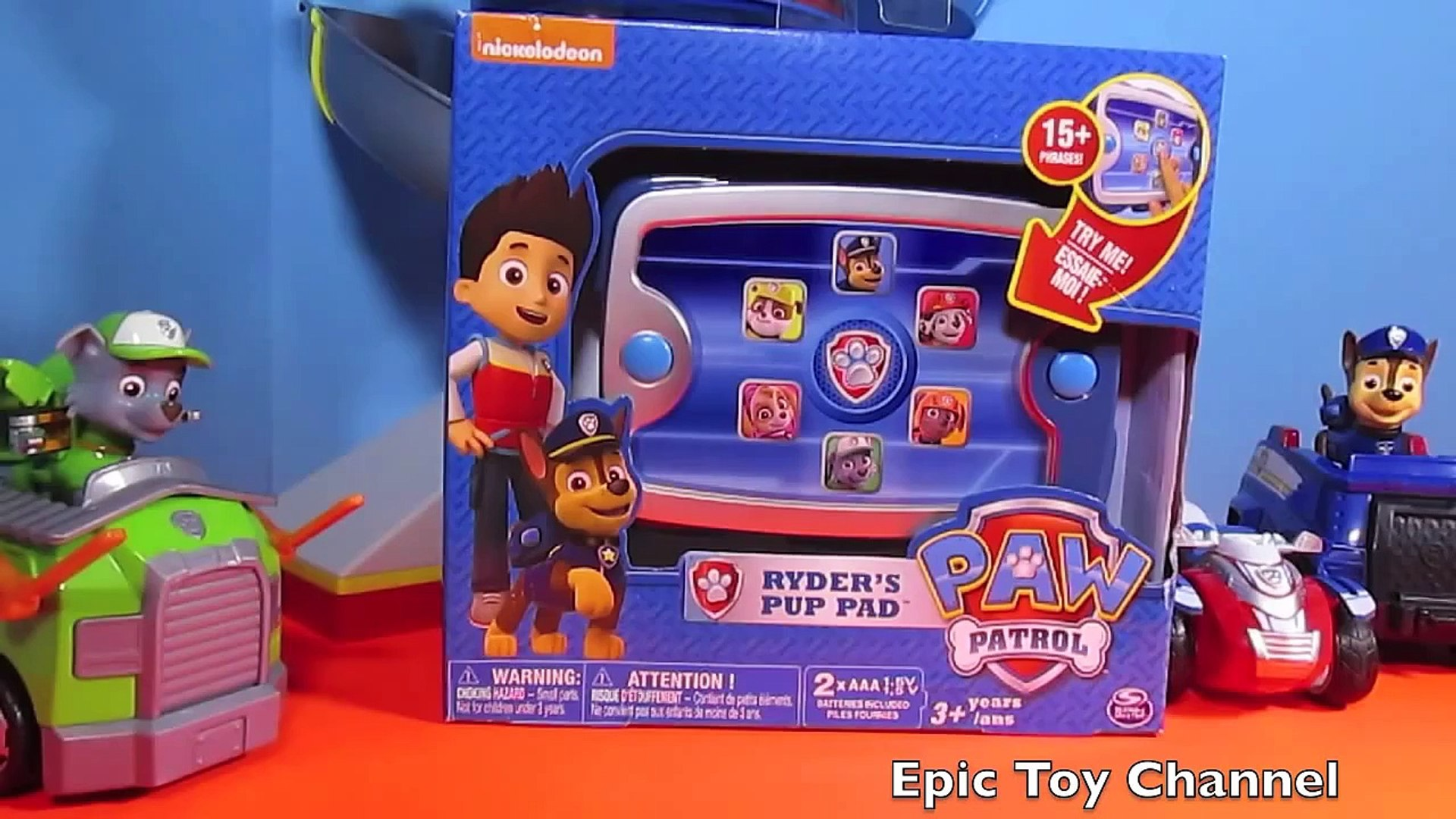 Paw Patrol Nickelodeon Parody Ryder S Pup Pad Paw Patrol Toy Ryder S Tablet Review Video Dailymotion