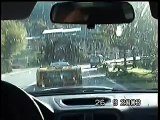 Lamborghini Diablo GTR filmed on board Subaru Impreza STI