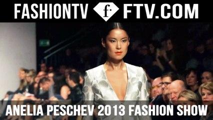 Maria Mogsolova Walks for Anelia Peschev Fashion Show 2013 | FTV.com