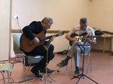 M2U02014 duo guitare classique et electrique, Take Five de Brubeck, fête de la musique à Scy Chazelles le 21 06 2015