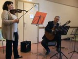 M2U02020 Trio de professeurs, guitare, piano et violon, tango, fête de la musique à Scy Chazelles le 21 06 2015