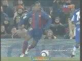Dribbles : Ronaldinho contre L'Espanyol