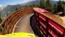 Présentation de la piste de Vallnord pour les championnats du monde de descente