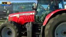 Colère des agriculteurs: plus de 1.000 tracteurs roulent dans Paris