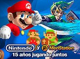 Nintendo y MeriStation: 15 años jugando juntos