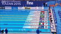 50m brasse F (demi-finales) - ChM 2015 natation
