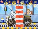 Car Wash Police Car Police crashes  Police car cartoon for children  Police car race  Police trucks