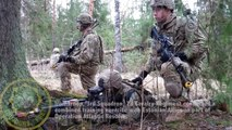 Video: The 2d Cavalry Regiment (US Army) and allies are fighting the Russian terrorists in training in Estonia