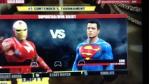 WWE 2K15 Gold Rush Starters 1:Iron Man vs. Superman