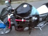 pocket bike xj 600 yamaha tuning burnout mini Bike 600cc 80 PS