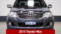 2013 Toyota Hilux KUN26R MY12 SR5 (4x4) Grey 4 Speed Automatic Dual Cab Pick-up