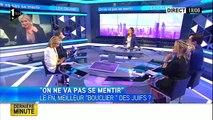 Débat : Marine Le Pen défend les juifs 19-06-2014