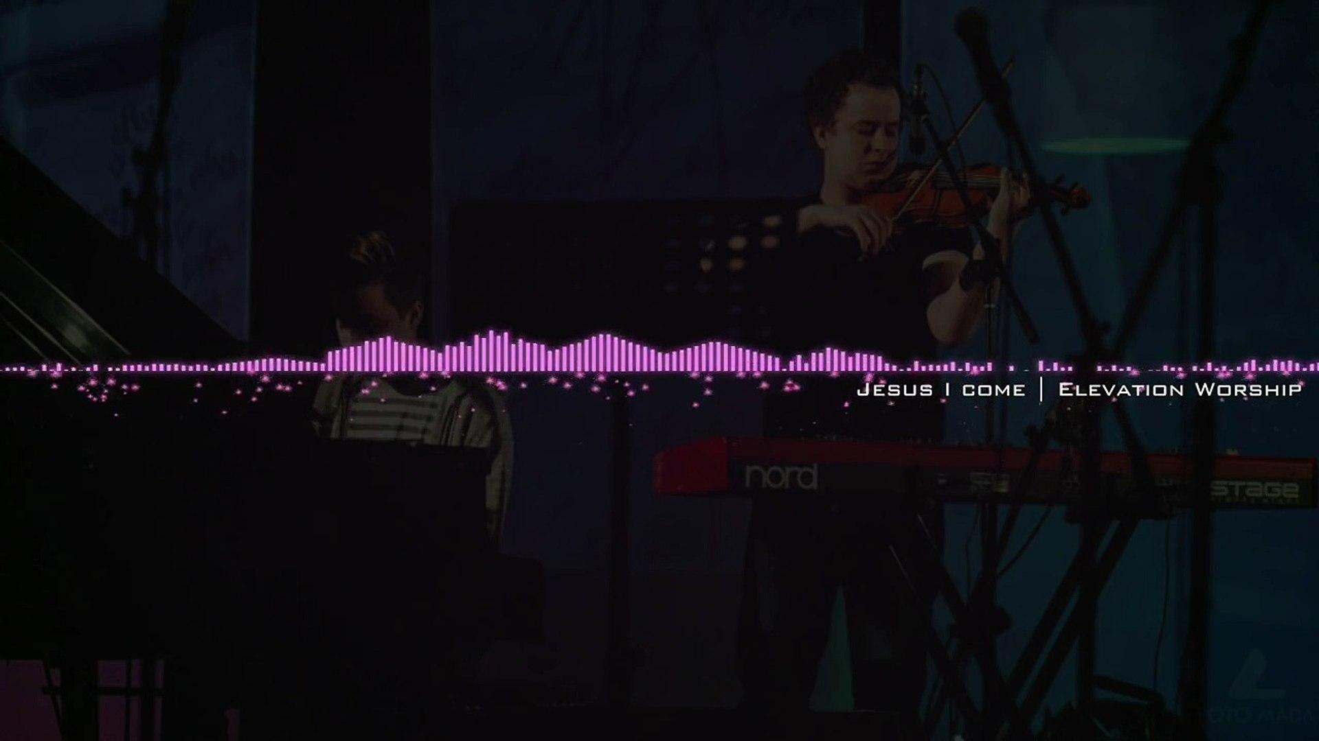 Jesus I come - Elevation Worship - instrumental piano & violin