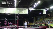 Gymnastics Coach Saves Girl From Serious Injury, Twice!